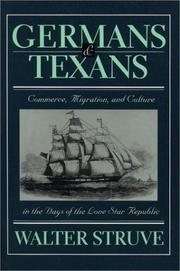 Cover of: Germans & Texans