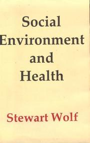 Cover of: Social environment and health