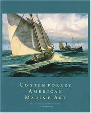 Cover of: Contemporary American Marine Art | Richard V. West
