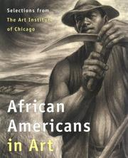 Cover of: African Americans in art