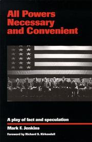 Cover of: All powers necessary and convenient