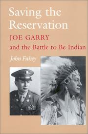 Cover of: Saving the Reservation