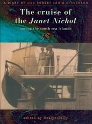 Cover of: The Cruise of the Janet Nichol Among the South Sea Islands | Fanny Van de Grift Stevenson