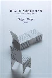 Cover of: Origami Bridges: Poems of Psychoanalysis and Fire