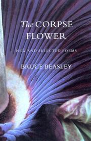 Cover of: The Corpse Flower | Bruce Beasley