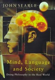 Cover of: Mind Language and Society Philosophy In Th (MasterMinds)