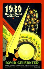 Cover of: 1939