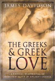 Cover of: The Greeks and Greek Love