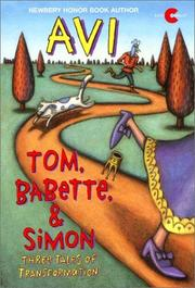 Cover of: Tom, Babette, and Simon
