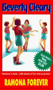 Cover of: RAMONA FOREVER (Ramona Quimby