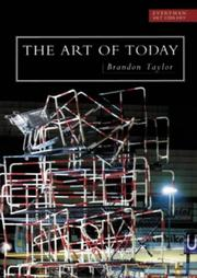 Cover of: The art of today