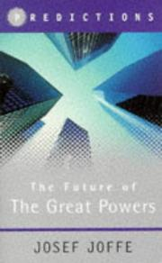 Cover of: The Future of the Great Powers