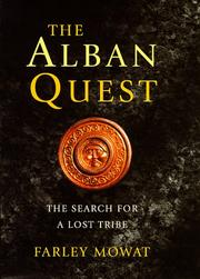 Cover of: The Alban quest: the search for a lost tribe