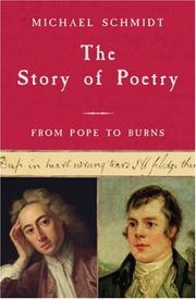 Cover of: The Story of Poetry: Volume 3 | Michael Schmidt