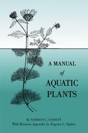 Cover of: A manual of aquatic plants