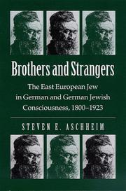 Cover of: Brothers and strangers | Steven E. Aschheim