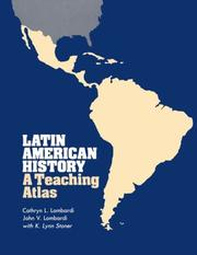 Cover of: Latin American History | Cathryn L. Lombardi