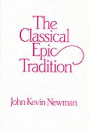 Cover of: The classical epic tradition
