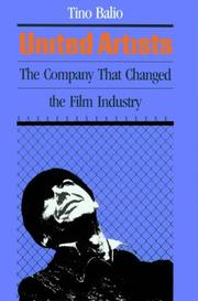 Cover of: United Artists: the company built by the stars