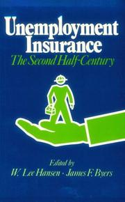 Cover of: Unemployment Insurance | W. Lee Hansen