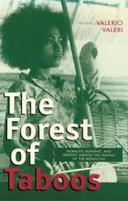 Cover of: The Forest of Taboos