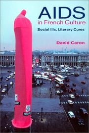Cover of: AIDS in French Culture | David Caron