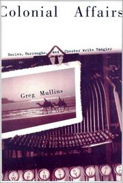 Cover of: Colonial affairs | Greg A. Mullins