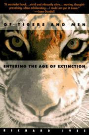 Cover of: Of tigers and men