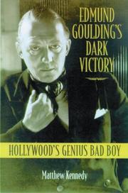 Cover of: Edmund Goulding's dark victory