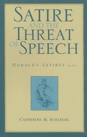 Cover of: Satire and the threat of speech | Catherine Schlegel