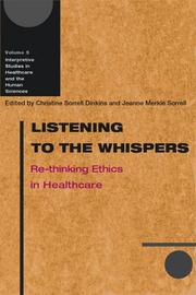 Cover of: Listening to the Whispers |