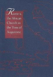 Cover of: Rome and the African church in the time of Augustine