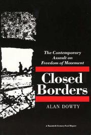Cover of: Closed Borders