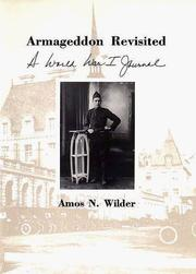 Cover of: Armageddon revisited