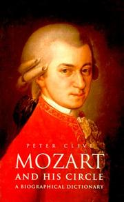 Cover of: Mozart and his circle