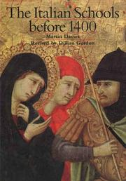 Cover of: The Early Italian Schools Before 1400 (National Gallery London Publications)