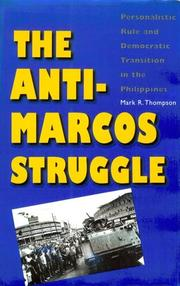 Cover of: The anti-Marcos struggle