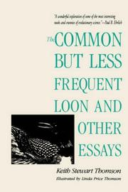 Cover of: The common but less frequent loon and other essays
