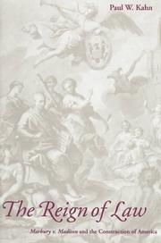 Cover of: The reign of law