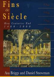 Cover of: Fins de Siecle: How Centuries End, 1400-2000