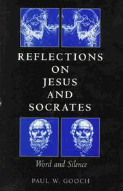 Cover of: Reflections on Jesus and Socrates