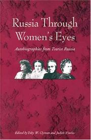 Cover of: Russia Through Women