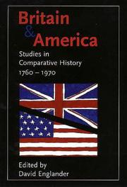 Cover of: Britain and America | David Englander
