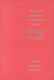 Cover of: Whose Freud?