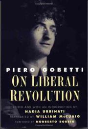 Cover of: On Liberal Revolution (Italian Literature and Thought)