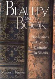 Cover of: Beauty and the book