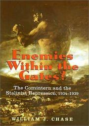 Cover of: Enemies within the Gates? | William J. Chase