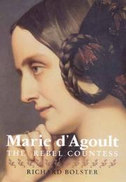 Cover of: Marie d'Agoult