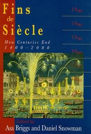 Cover of: Fins De Siocle: How Centuries End, 1400-200