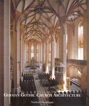 Cover of: German Gothic Church architecture
